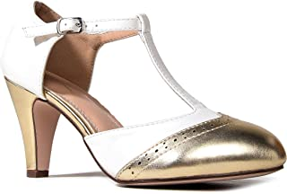 Best retro gold heels Reviews