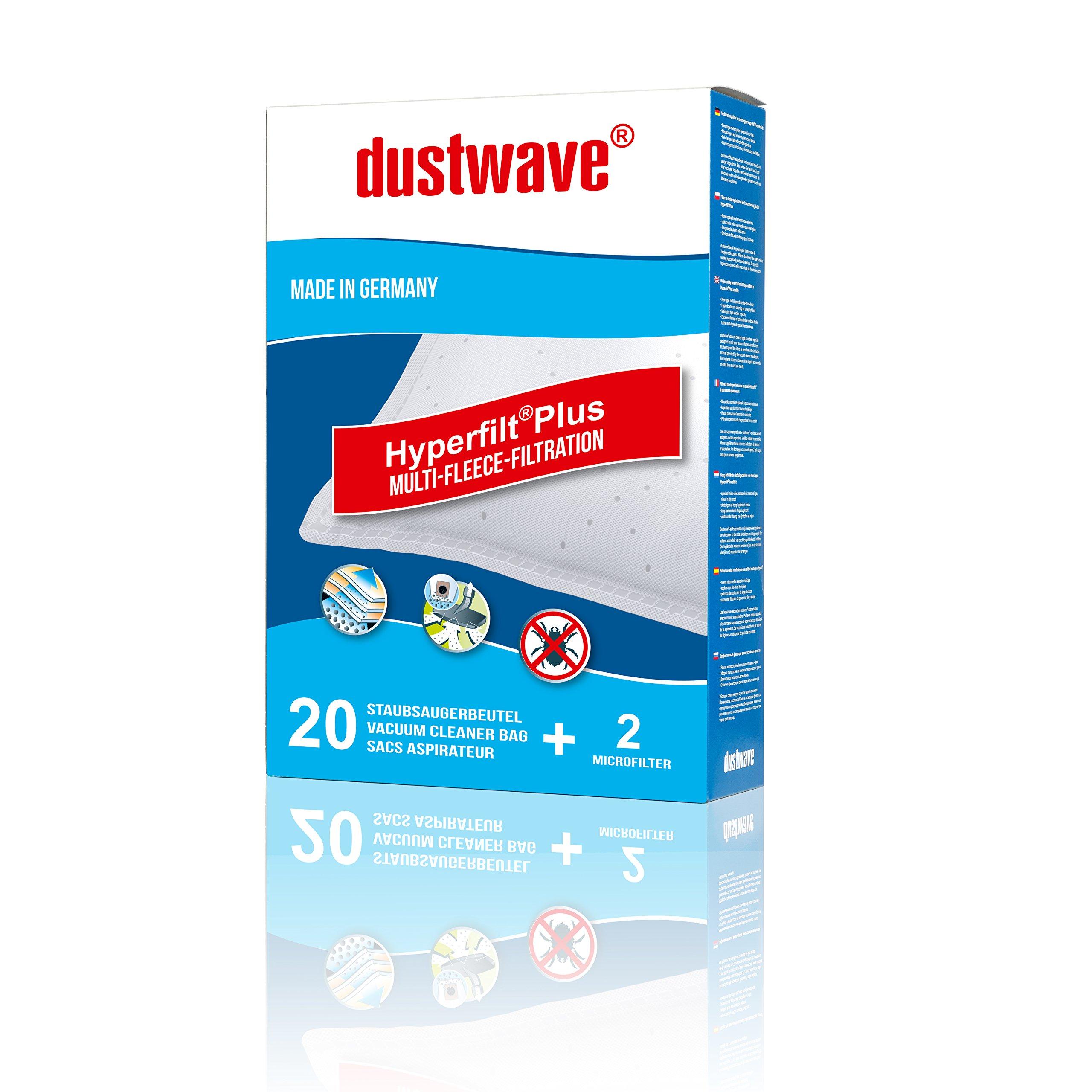 40 filtro de polvo bolsa (Super Pack) Adecuado para Rowenta – 6373 RO SF Compact – Aspiradora – dustwave® Marca Bolsa para el polvo – Fabricado en Alemania + Incluye Micro de filtro: Amazon.es: Hogar