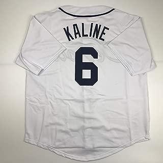 Unsigned Al Kaline Detroit White Custom Stitched Baseball Jersey Size Men's XL New No Brands/Logos