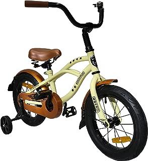 Upten classical 14 inch Children bike kids bike beach cycle (Multi Color)