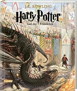 Harry Potter und der Feuerkelch (farbig illustrierte Schmuck