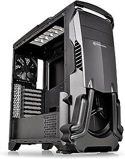 Thermaltake Versa N24 Black ATX Mid Tower Gaming شاسی کامپیوتر با پوشش قدرت، 120mm فن عقب از پیش نصب شده است. CA-1G1-00M1WN-00