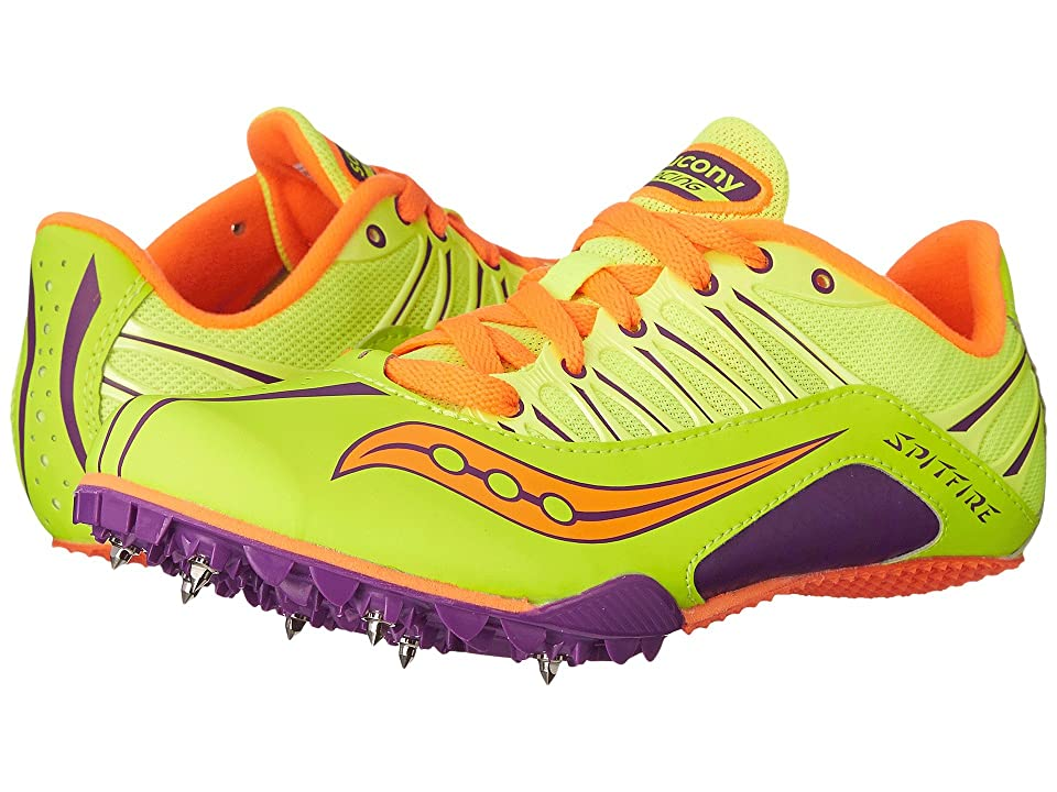 Saucony Spitfire (Citron/Purple/Orange) Women