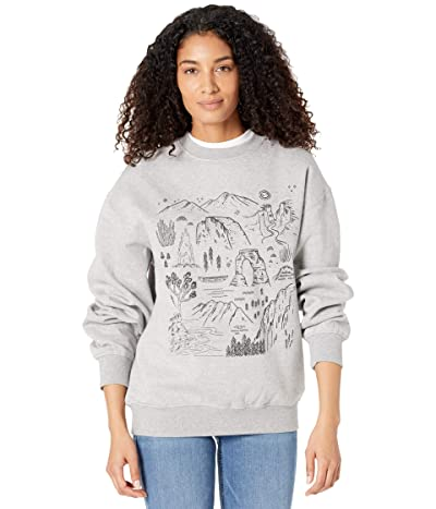 Parks Project Iconic National Parks Crew Sweatshirt Clothing