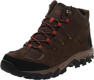 حذاء التنزه بوكستون بيك المقاوم للماء جيد التهوية مع نعل سفلي عالي الاحتكاك للرجال من كولومبيا