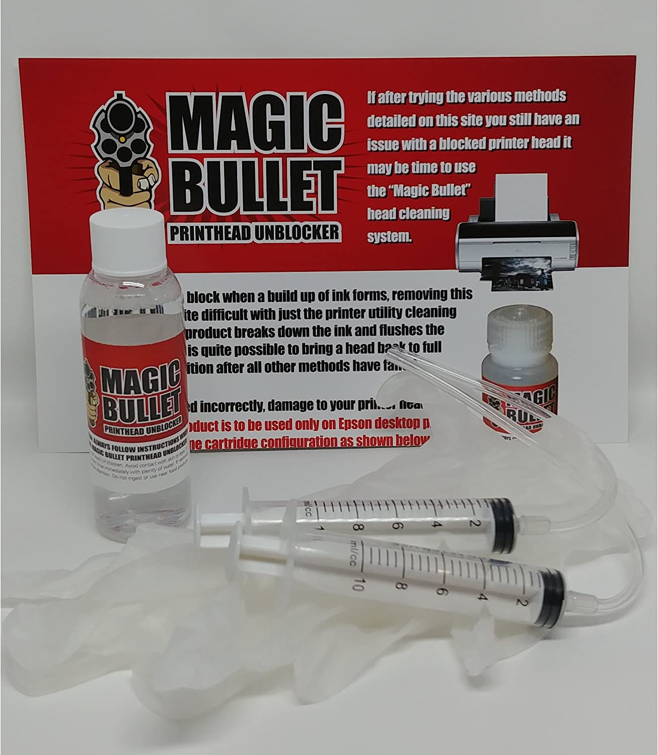 Magic Bullet Print Head Sales results Max 65% OFF No. 1 Cleaner and Kit Unblocker