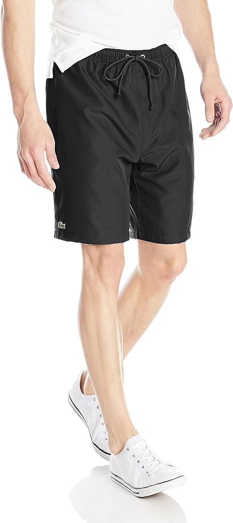 Lacoste Mens Sport Jersey Lined Taffeta Quick Dry Short
