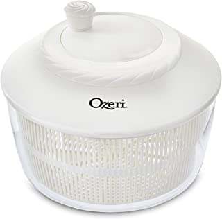 Ozeri Italian Made Fresca Salad Spinner and Serving Bowl, BPA-Free