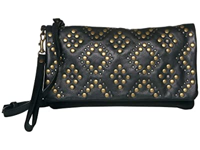Lucky Brand Kune Crossbody (Black) Handbags