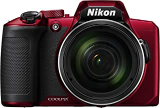 Nikon Coolpix B600 Digital Camera, Red
