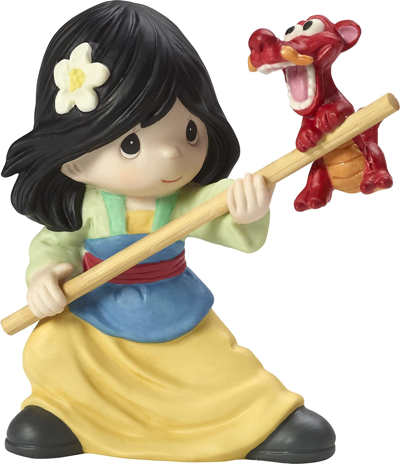 Precious Moments Disney Mulan Together We We Can Do Anything Poreclain Figurine 173091
