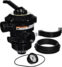 Pentair 262504 1-1/2-Inch Multiport Valve with Buttress Thread Replacement Tagelus Pool and Spa Sand Filter