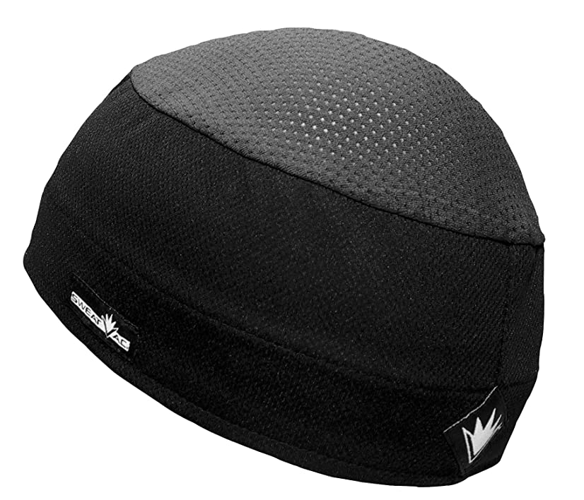 Do Wrap/Wickie Wear Genuine Do Wrap Sweatvac Ventilator Cap - Black, Distinct Name: Black, Size: OSFM, Primary Color: B