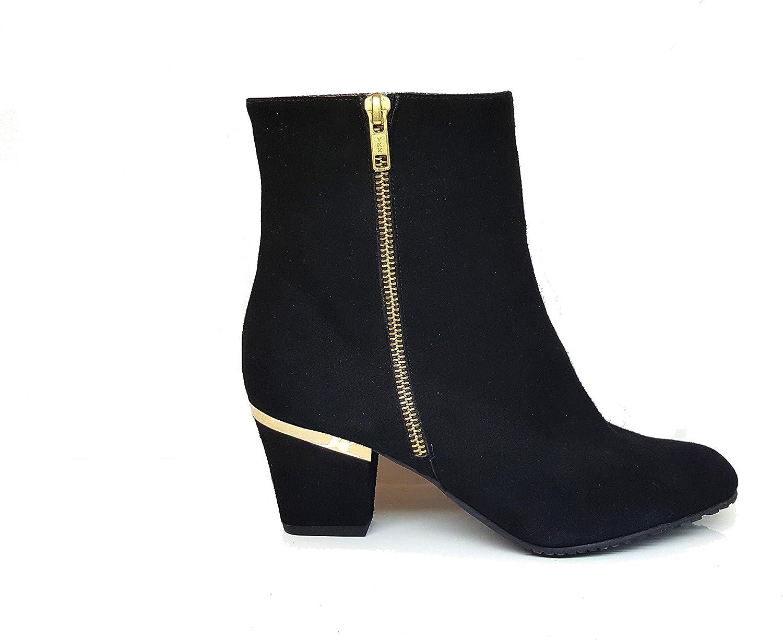 neuer Stil von 2019 Vorschau von Modestil Stiefel Damen - XELLERA. Gennia & Blockabsatz Reiverschluss ...