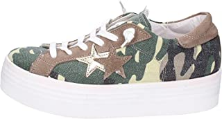 2 STAR Trainers Womens Green