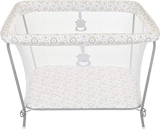Cercado para Bebês Essencial, Tutti Baby, Branco com Estampa