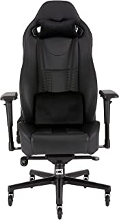 Corsair T2 ROAD WARRIOR, High Back Desk and Office Chair - Black