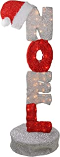 Northlight PW 16003_L2D Christmas Decorations/Yard Art/Signs and Banners, Red