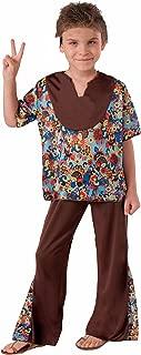 Forum Novelties 60's Hippie Boy Child Costume, Large