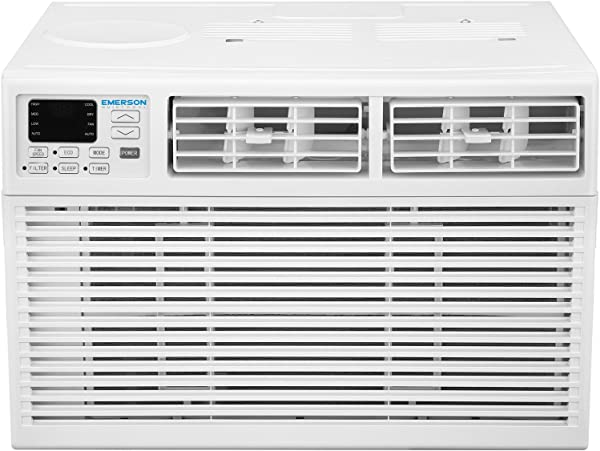 Emerson Quiet Kool EARC8RE1 8000 8 000 BTU 115V Window Air Conditioner Standard White