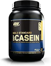 OPTIMUM NUTRITION Gold Standard 100% Micellar Casein Protein Powder, Slow Digesting, Helps Keep You Full, Overnight Muscle Recovery, Banana Cream, 2 Pound