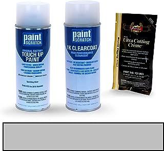PAINTSCRATCH Sparkling Silver KCS for 2018 Hyundai Creta - Touch Up Paint Spray Can Kit - Original Factory OEM Automotive Paint - Color Match Guaranteed