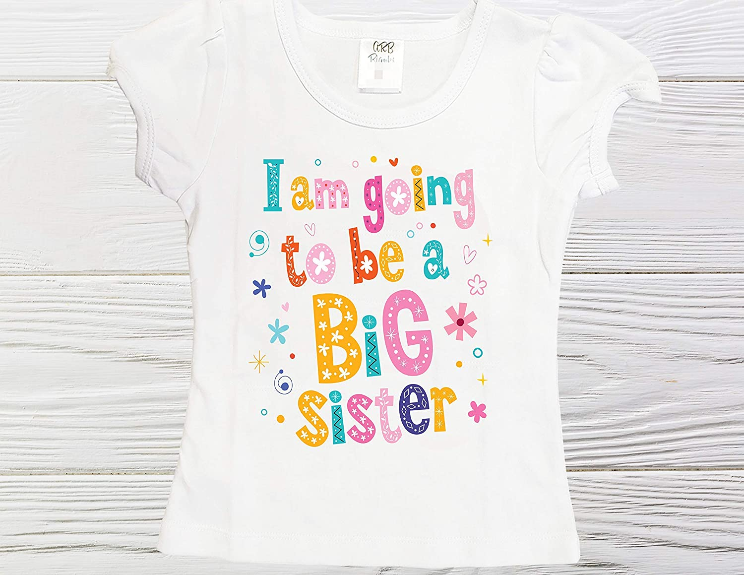 Big Sister shirt Going to be girls sister Import 5 ☆ very popular big a