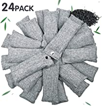 Vitscan 24 Pack Bamboo Charcoal Purifying Bag for Shoes, Natural Purifying Bags,..