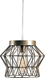 Kenroy Home 93853SIL 1 Light Swag Pendant, Silver Finish
