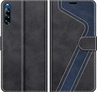 Coque Sony Xperia XA1 PU Pochette Portefeuille en Cuir Coque de Protection Housse /à Rabat Magn/étique Stand Flip Case Cover Clapet 3D Effet Relief Jolie Motif Chat Hibou Coque Sony Xperia XA1