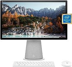 "HP Chromebase 21.5"" All-in-One Desktop, Intel Pentium Gold 6405U Processor, 4 GB RAM, 128 GB SSD, Rotating Full HD IPS Tou..."