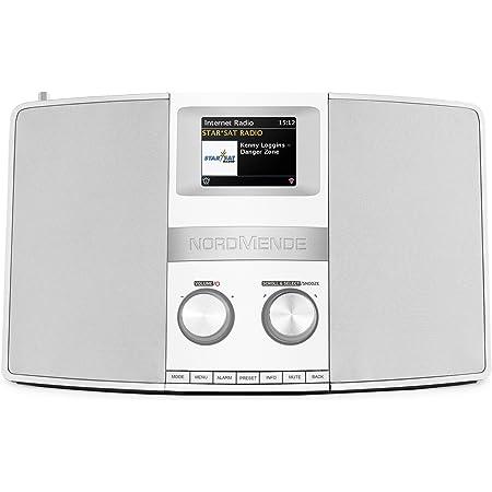 Nordmende Transita 400 Multiroom Hybrid Design Radio For Receiving Dab Fm White Silver Home Cinema Tv Video