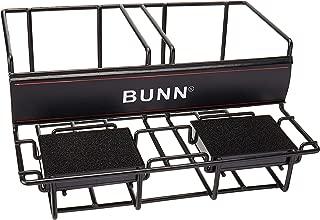 BUNN 35728 2 Lower Universal Airpot Rack, Stainless Steel