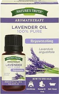 Nature's Truth Essential Oil, 100% pure Lavender Oil, 1 Count