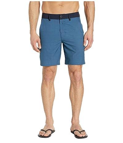 Prana Kingfischer Shorts (Blue Anchor) Men