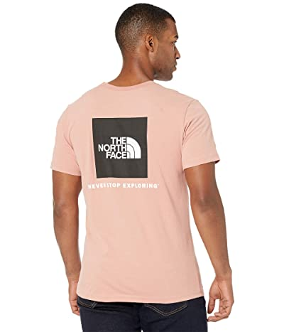 The North Face Box Nse Short Sleeve Tee (Pink Clay) Men