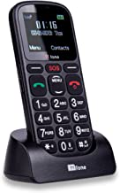 TTfone Comet TT100 Big Button Simple Easy Mobile Phone with Dock Charger