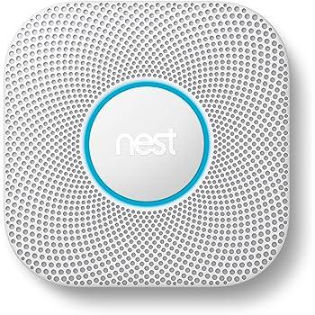 Google S3003LWES Nest Sensor Alarm-Smoke Carbon Monoxide Detector, 1, White