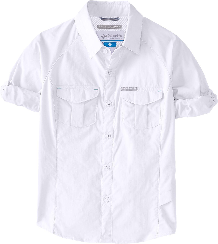Youth Columbia Sportswear Girls Silver Ridge Long Sleeve Shirt