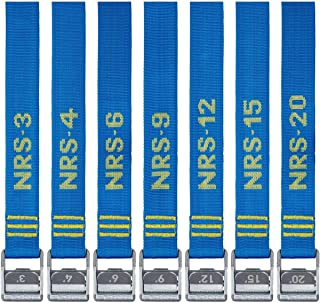 """NRS 1.5"""" Heavy Duty Tie Down Strap 2 Pack"""