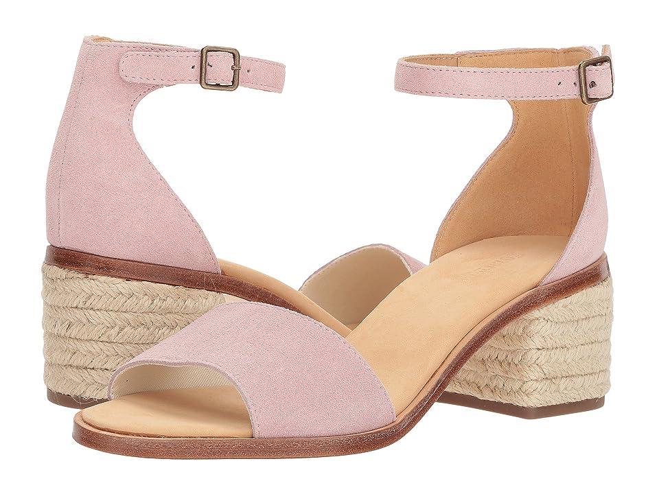 Soludos Capri Suede Heel (Peony) Women