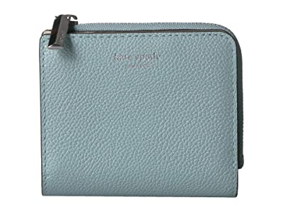 Kate Spade New York Margaux Small Bifold Wallet (Hazy) Bi-fold Wallet