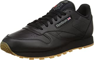 Reebok Classic Leather, Men's Shoes, Black, 7.5 UK (41 EU)