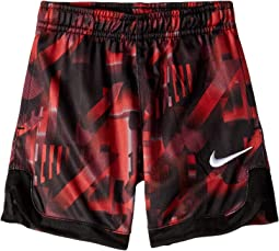 Nike Kids All Over Print Dry Dominate Shorts (Toddler)