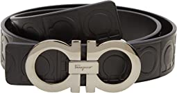 Salvatore Ferragamo - Double Gancini Sized Belt 679169