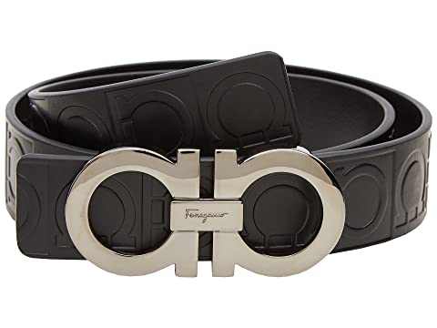 Salvatore Ferragamo Double Gancini Sized Belt 679169