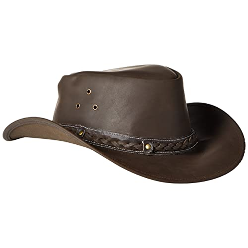 Mens Leather Hats  Amazon.com e28a5ae03755