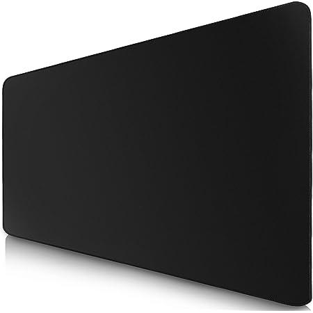 Sidorenko Alfombrilla XXL - Mouse Pad Gaming 900 x 400 mm - Bordes sin Bordes - Antideslizante - Alfombrilla Gaming - Negro