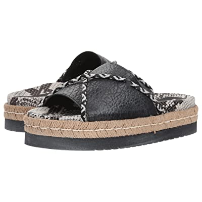 Free People Dempsey Footbed (Black) Women
