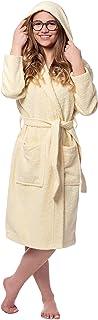 ZOLLNER Albornoz niños 8 a 11 años algodón, Amarillo, Tallas